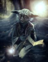 Yoda by CindysArt