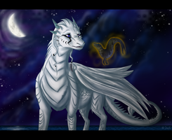 Wyrd of the White Dragon by JaylacineChiboa