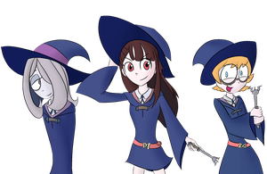 Three Little Witches by TiXoLSeyerk