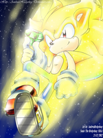 Super Sonic by andreahedgehog