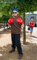 24th May MCM LON Team Fortress 2 RED Heavy by TPJerematic