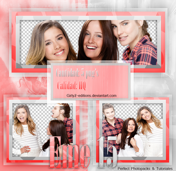 Photopack PNG//EME 15 by vampiradeco