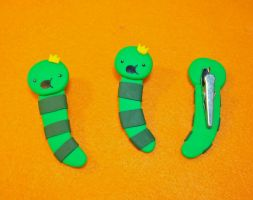 Adventure Time King Worm Clips by CadmiumCrab