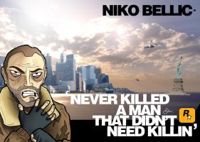 Niko Bellic by theblastedfrench