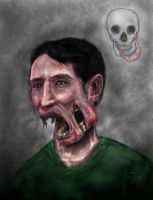 Zombie Self-Portrait by mayec