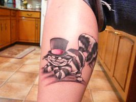 Cheshire Cat Tattoo by KaseyOnTacos