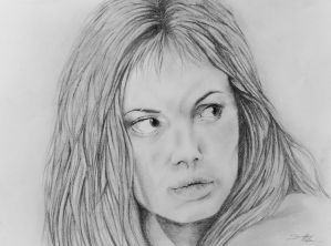 Angelina Jolie - Girl interrupted by Volpe-art
