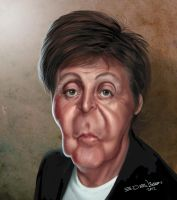 Paul McCartney by edvanderlinden