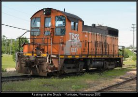 Resting in the Shade by classictrains