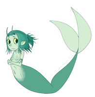mermaid by MorwenHelyanwe