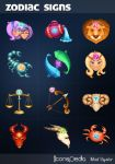Zodiac Signs Icons by iconspedia