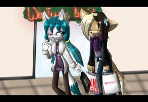 .:Christmas Shopping:. by AngelSoleil21