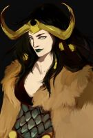 lady loki draft by CottttoN1992