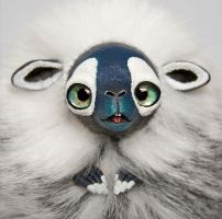 Yeti Furry Creature by RamalamaCreatures