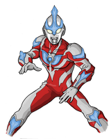 Ultraman Ginga by Jason-FH-Art