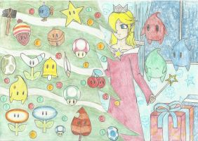 Christmas Rosalina- preparations by RedRiot1