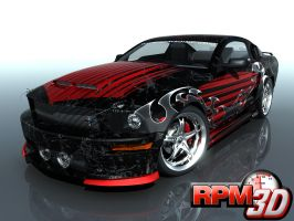 RPM3D Mustang Contest 40 by nascar3d