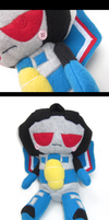 Seeker Plush: G1Thundercracker by Mazzlebee