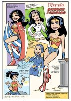 Diana's Wonder Fashions by BillWalko