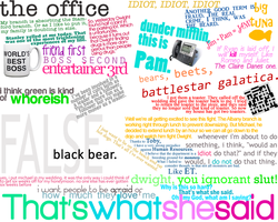 The Office Quotes by Tiggular