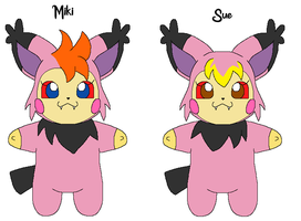 Miki and Sue colored by Kat-Skittychu