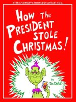How Obama Stole Christmas by Conservatoons