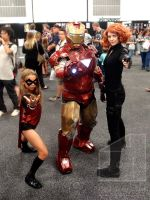 Iron Man at Adelaide Adelaide Oz Comic-Con 2013 by Old-Trenchy