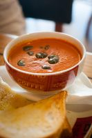 Roasted Tomato and Basil soup by TiRiSh