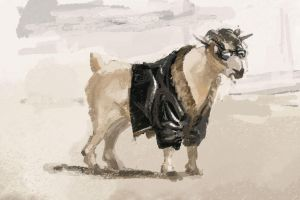 CHILLSKY24: Cool Goat is Cool by Hamsta180