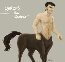 Kotezos the Centaur by CantonKid