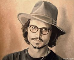 Johnny Depp - Japan 2006 by shaman-art
