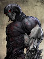 Design for major new character in Cap Stone by LiamSharp