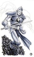Marvel's Black Knight by BrettBarkley