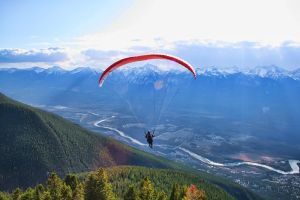 Para Glider over Golden by skip2000