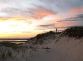 Sunset over Dune by JBoudreau