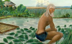 Rice farmer of Shasheer by MuscleWomen-Planet