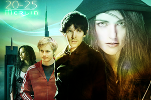 Merlin and team in the year 2025 by Catt021