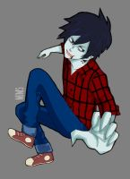 Adventure Time - Marshall Lee by MimsCosta