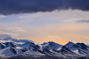 Anchorage Mountains by Djohns