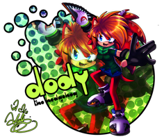 Dody The Hedgehog by Adalishu