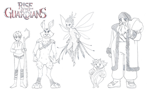Rise of the Guardians by LiLy-GaRdIs