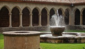 Cloisters. Languedoc. France. by jennystokes