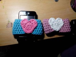coffee cup coozies by Astral-thread