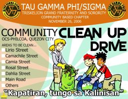 OCS-PHILCOA TRISKELION CLEAN UP DRIVE - KALINISAN by khingfiles