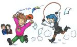 Larry and Franzy's playtime by HolliGenet