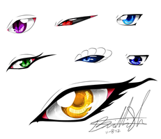 Some Random Eyes by Neffertity