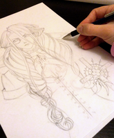 WIP - Trinity Blood by karathes