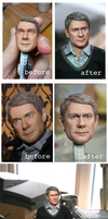Full repaint - 1/6 scale John Watson collectible by DarrenCarnall
