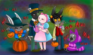 HAPPY HALLOWEEN!!! by noodle-doodle