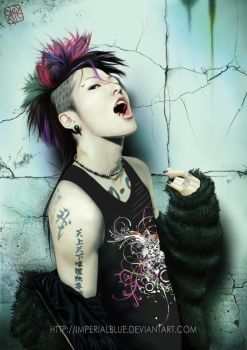 Miyavi by ImperialBlue